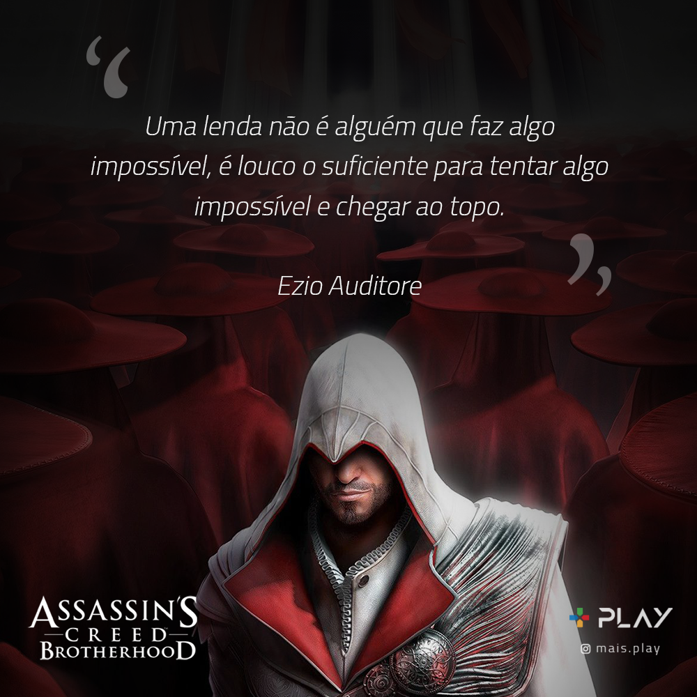 frases ezio assassins creed brotherhood